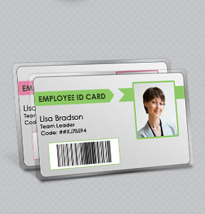 id card software design student employee identification cards