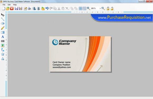 Windows 7 Visiting Cards Design 7.3.0.1 full